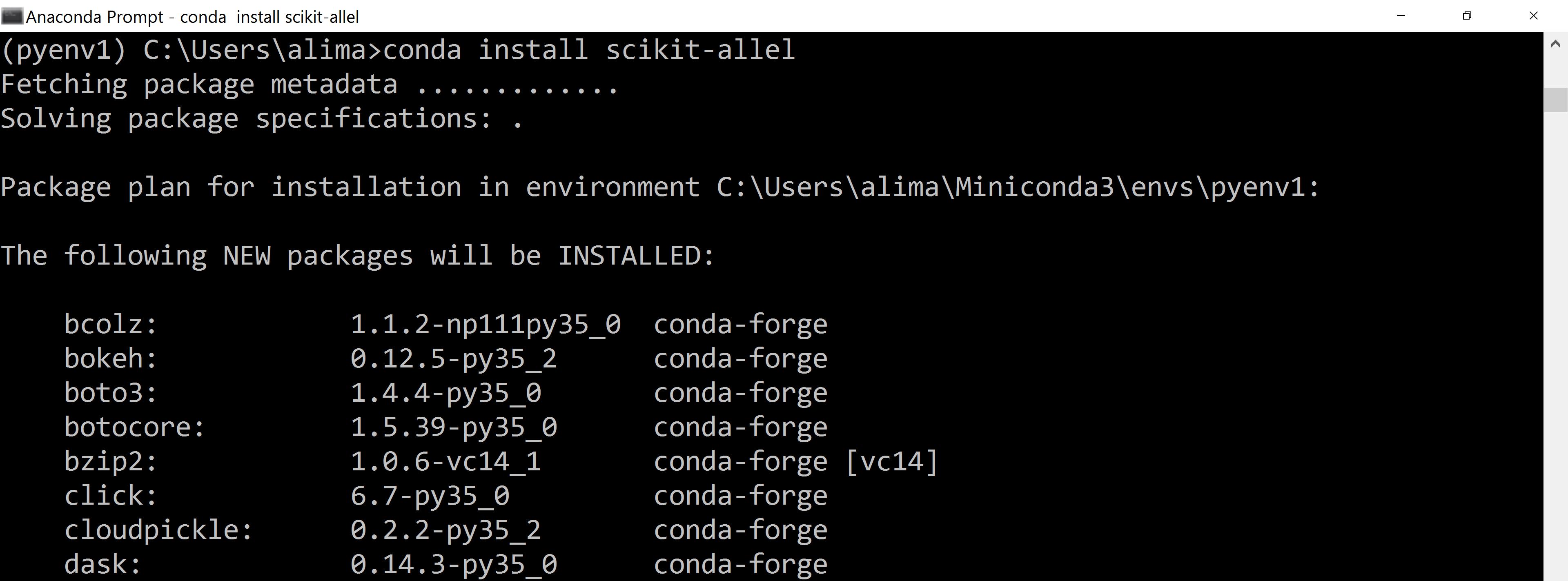 Install pandas python 3 5 ubuntu | How to install pandas for